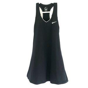 Nike dri fit dress black small tennis